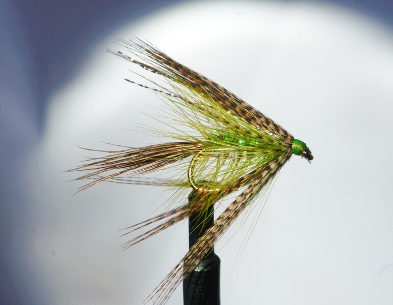 My Fluorescent Green Dabbler